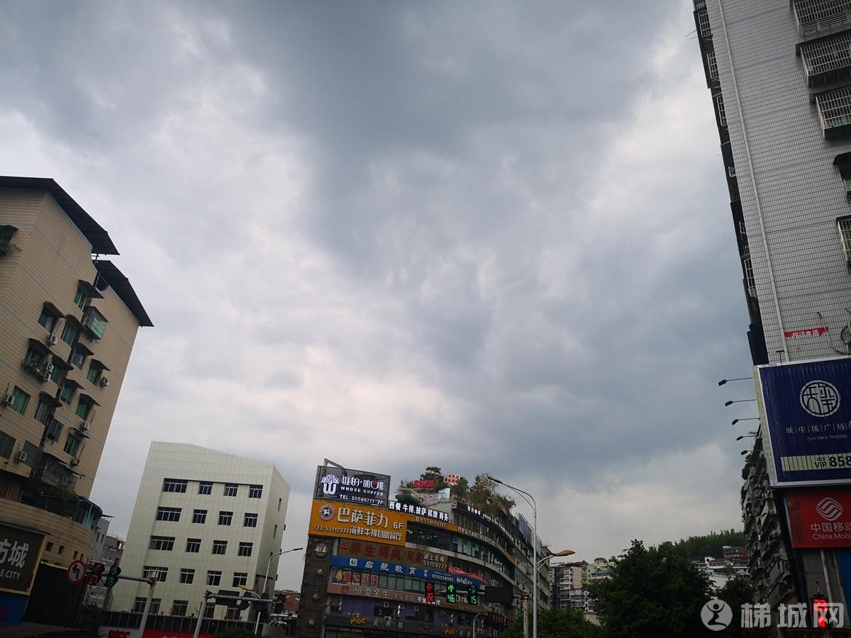 下午大雨来临前!!